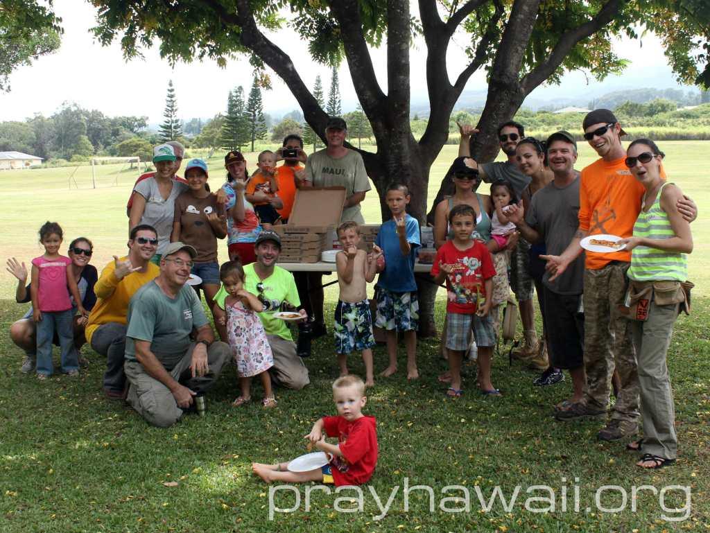 Pray Hawaii Giggle Hill 5