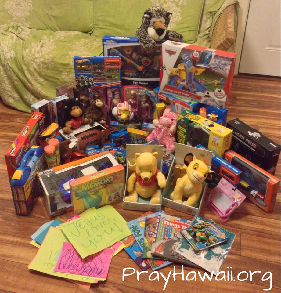 Pray Hawaii_Haiku School Donation