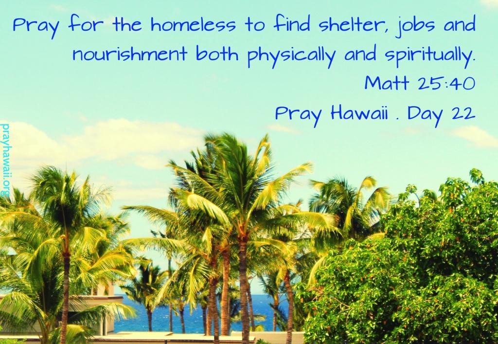 Pray Hawaii Day 22