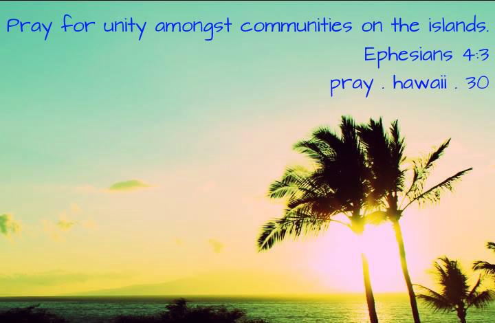 Pray Hawaii Day 30