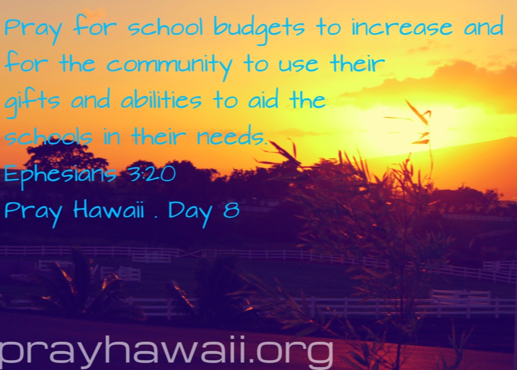 Pray Hawaii Day 8