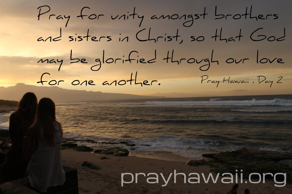 Pray Hawaii Day 2