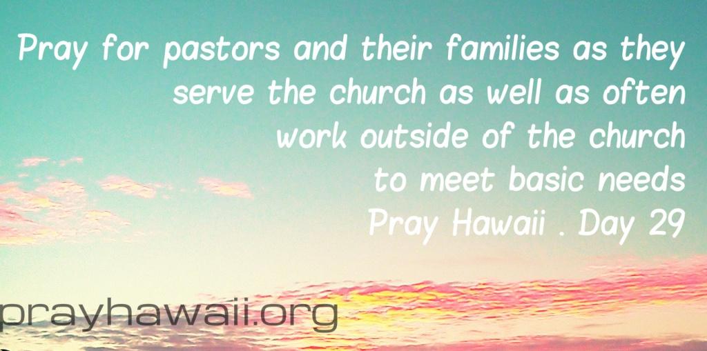 Pray Hawaii Day 29