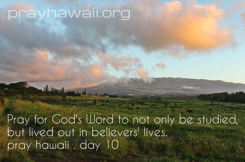 PrayHawaii Day 10