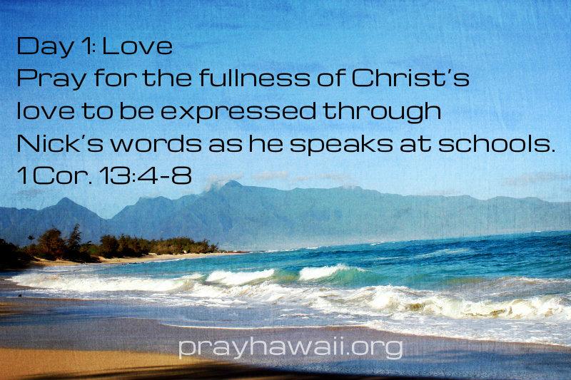 Pray-Hawaii-Nick-Vujicic-Day 1