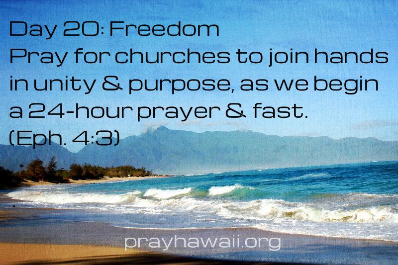 Pray-Hawaii-Nick Vujicic-Day 20