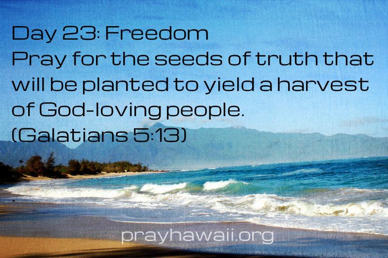 Pray-Hawaii-Nick Vujicic-Day 23