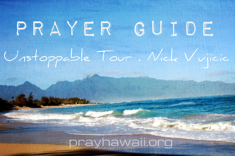 Pray-Hawaii-Nick-Vujicic-Prayer-Guide