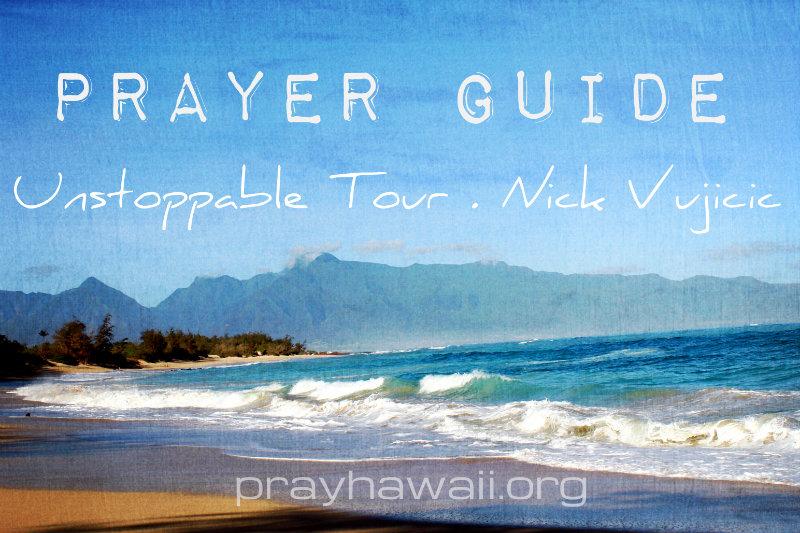 Pray-Hawaii-Nick-Vujicic-Prayer-Guide