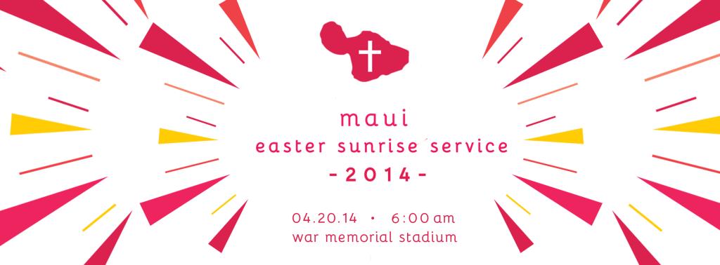 Maui Easter Sunrise Service 2014