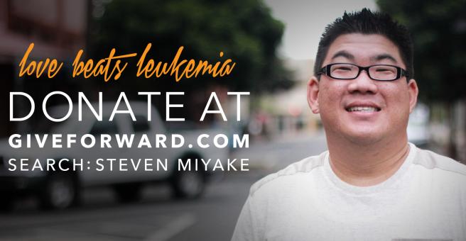 Steven Miyake Give Forward