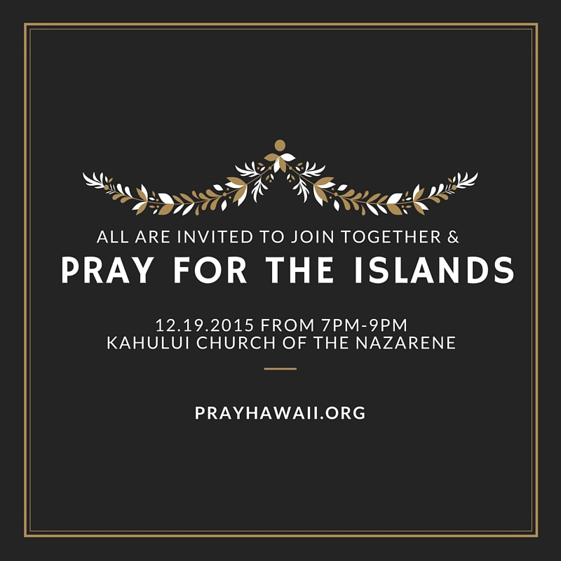 Pray Hawaii